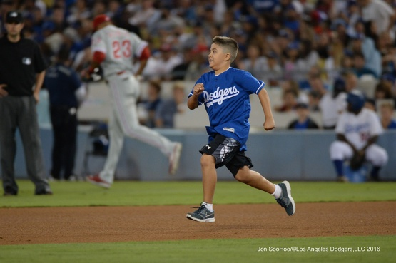 Los Angeles Dodgers during game against the Philadelphia Phillies Tuesday, August 8, 2016 at Dodger Stadium in Los Angeles,California. Photo by Jon SooHoo/©Los Angeles Dodgers,LLC 2016
