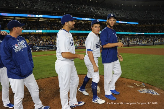 Los Angeles Dodgers beat the Philadelphia Phillies 9-3 Tuesday, August 8, 2016 at Dodger Stadium in Los Angeles,California. Photo by Jon SooHoo/©Los Angeles Dodgers,LLC 2016