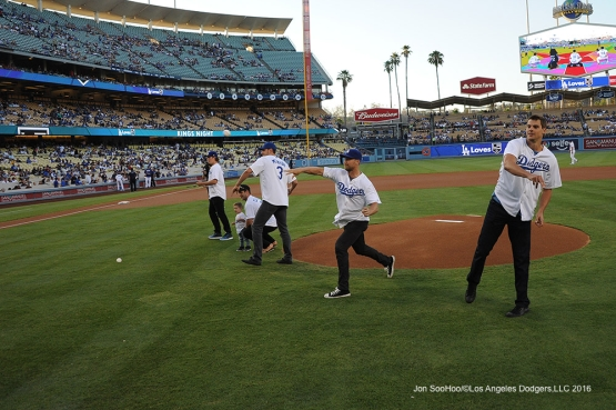 Kings Night Friday, August 12, 2016 at Dodger Stadium in Los Angeles,California. Photo by Jon SooHoo/©Los Angeles Dodgers,LLC