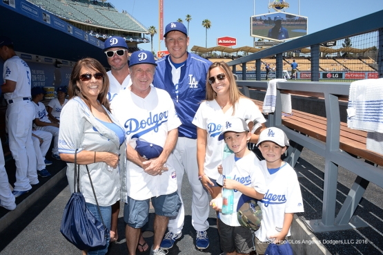 Los Angeles Dodgers during game against the Pittsburgh Pirates Sunday, August 14, 2016 at Dodger Stadium in Los Angeles,California. Photo by Jon SooHoo/©Los Angeles Dodgers,LLC 2016