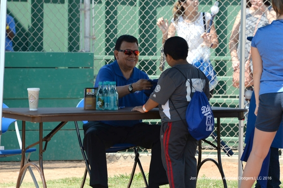 Los Angeles Dodgers Foundation and Fernando Valenzuela at Darby Park Saturday August 20, 2016  in Inglewood,California. Photo by Jon SooHoo/©Los Angeles Dodgers,LLC 2016