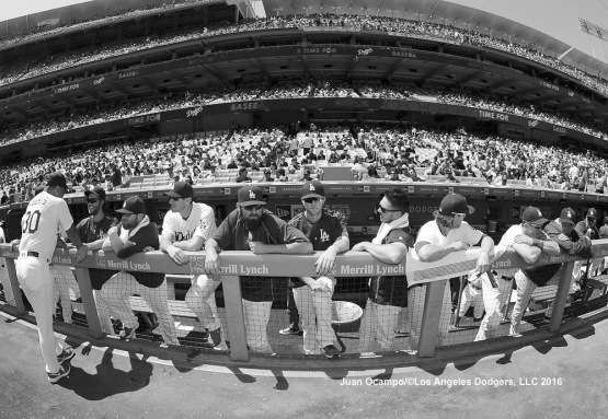 Dodger players get ready for the game against the Cubs. LOS ANGELES - AUGUST 23:  San Francisco Giants against the Los Angeles Dodgers on August 24, 2016 at Dodger Stadium in Los Angeles, California. LOS ANGELES - AUGUST 23:  San Francisco Giants against the Los Angeles Dodgers on August 24, 2016 at Dodger Stadium in Los Angeles, California. LOS ANGELES - AUGUST 23:  San Francisco Giants against the Los Angeles Dodgers on August 24, 2016 at Dodger Stadium in Los Angeles, California. LOS ANGELES - AUGUST 23:  San Francisco Giants against the Los Angeles Dodgers on August 24, 2016 at Dodger Stadium in Los Angeles, California. LOS ANGELES - AUGUST 23:  San Francisco Giants against the Los Angeles Dodgers on August 24, 2016 at Dodger Stadium in Los Angeles, California. LOS ANGELES - AUGUST 24:  San Francisco Giants against the Los Angeles Dodgers on August 24, 2016 at Dodger Stadium in Los Angeles, California. LOS ANGELES - AUGUST 24:  San Francisco Giants against the Los Angeles Dodgers on August 24, 2016 at Dodger Stadium in Los Angeles, California. LOS ANGELES - AUGUST 23:  San Francisco Giants against the Los Angeles Dodgers on August 24, 2016 at Dodger Stadium in Los Angeles, California. LOS ANGELES - AUGUST 23:  San Francisco Giants against the Los Angeles Dodgers on August 24, 2016 at Dodger Stadium in Los Angeles, California. LOS ANGELES - AUGUST 23:  San Francisco Giants against the Los Angeles Dodgers on August 24, 2016 at Dodger Stadium in Los Angeles, California. LOS ANGELES - AUGUST 23:  San Francisco Giants against the Los Angeles Dodgers on August 24, 2016 at Dodger Stadium in Los Angeles, California. LOS ANGELES - AUGUST 24:  San Francisco Giants against the Los Ang