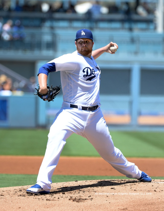 Newly reinstated pitcher Brett Anderson throws on the mound against the Pittsburgh Pirates. Jill Weisleder/Dodgers