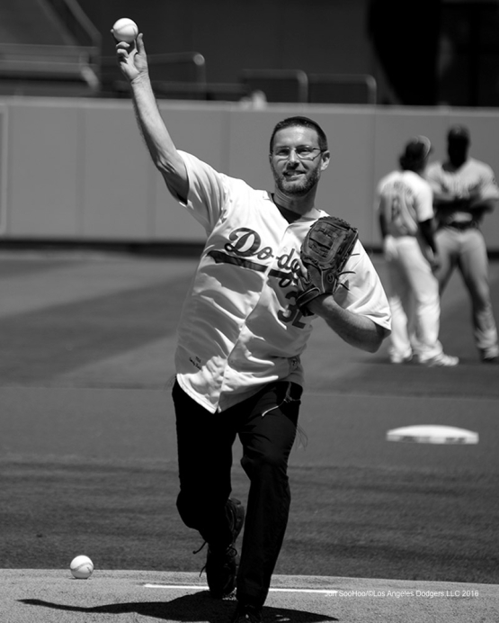 Los Angeles Dodgers game against the Chicago Cubs Sunday, August 28, 2016 at Dodger Stadium in Los Angeles,California. Photo by Jon SooHoo/©Los Angeles Dodgers,LLC 2016