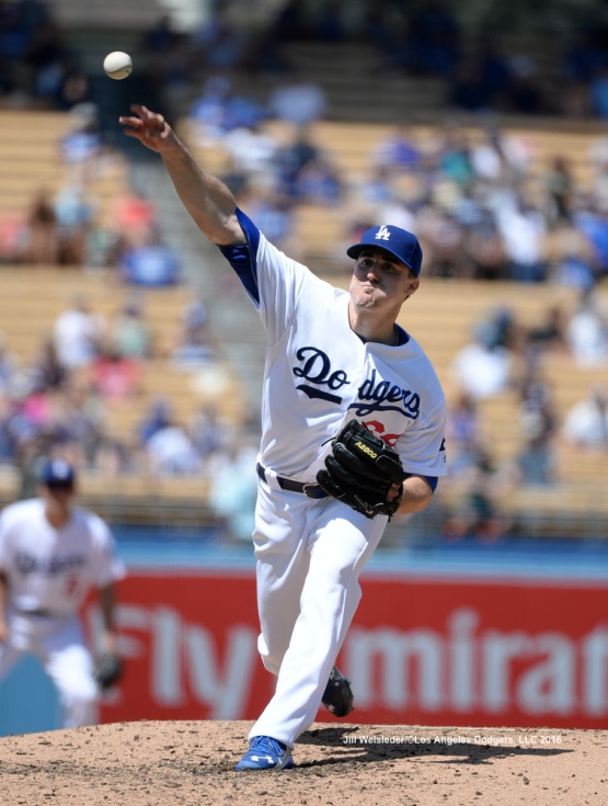 Starting pitcher Ross Stripling went 5.0 strong innings agains the Boston Red Sox. Jill Weisleder/Dodgers
