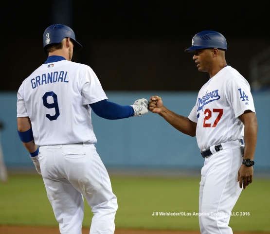 Yasmani Grandal bumps fists with George Lombard. Jill Weisleder/Dodgers LOS ANGELES - AUGUST 23:  San Francisco Giants against the Los Angeles Dodgers on August 24, 2016 at Dodger Stadium in Los Angeles, California. LOS ANGELES - AUGUST 23:  San Francisco Giants against the Los Angeles Dodgers on August 24, 2016 at Dodger Stadium in Los Angeles, California. LOS ANGELES - AUGUST 23:  San Francisco Giants against the Los Angeles Dodgers on August 24, 2016 at Dodger Stadium in Los Angeles, California. LOS ANGELES - AUGUST 23:  San Francisco Giants against the Los Angeles Dodgers on August 24, 2016 at Dodger Stadium in Los Angeles, California. LOS ANGELES - AUGUST 23:  San Francisco Giants against the Los Angeles Dodgers on August 24, 2016 at Dodger Stadium in Los Angeles, California. LOS ANGELES - AUGUST 24:  San Francisco Giants against the Los Angeles Dodgers on August 24, 2016 at Dodger Stadium in Los Angeles, California. LOS ANGELES - AUGUST 24:  San Francisco Giants against the Los Angeles Dodgers on August 24, 2016 at Dodger Stadium in Los Angeles, California. LOS ANGELES - AUGUST 23:  San Francisco Giants against the Los Angeles Dodgers on August 24, 2016 at Dodger Stadium in Los Angeles, California. LOS ANGELES - AUGUST 23:  San Francisco Giants against the Los Angeles Dodgers on August 24, 2016 at Dodger Stadium in Los Angeles, California. LOS ANGELES - AUGUST 23:  San Francisco Giants against the Los Angeles Dodgers on August 24, 2016 at Dodger Stadium in Los Angeles, California. LOS ANGELES - AUGUST 23:  San Francisco Giants against the Los Angeles Dodgers on August 24, 2016 at Dodger Stadium in Los Angeles, California. LOS ANGELES - AUGUST 24:  San Francisco Giants against the Los Angeles Dodgers on August 24, 2016 at Dodger Stadium in Los Angeles, California. LOS ANGELES - AUGUST 23:  San Francisco Giants against the Los Angeles Dodgers on August 24, 2016 at Dodger Stadium in Los Angeles, California. LOS ANGELES - AUGUST 23:  San Francisco Giants against the Los Angeles Dodgers on August 24, 2016 at Dodger Stadium in Los Angeles, California. LOS ANGELES - AUGUST 23:  San Francisco Giants against the Los Angeles Dodgers on August 24, 2016 at Dodger Stadium in Los Angeles, California. LOS ANGELES - AUGUST 23:  San Francisco Giants against the Los Angeles Dodgers on August 24, 2016 at Dodger Stadium in Los Angeles, California. LOS ANGELES - AUGUST 24:  San Francisco Giants against the Los Angeles Dodgers on August 24, 2016 at Dodger Stadium in Los Angeles, California. LOS ANGELES - AUGUST 23:  San Francisco Giants against the Los Angeles Dodgers on August 24, 2016 at Dodger Stadium in Los Angeles, California. LOS ANGELES - AUGUST 23:  San Francisco Giants against the Los Angeles Dodgers on August 24, 2016 at Dodger Stadium in Los Angeles, California. LOS ANGELES - AUGUST 23:  San Francisco Giants against the Los Angeles Dodgers on August 24, 2016 at Dodger Stadium in Los Angeles, California. LOS ANGELES - AUGUST 23:  San Francisco Giants against the Los Angeles Dodgers on August 24, 2016 at Dodger Stadium in Los Angeles, California. LOS ANGELES - AUGUST 24:  San Francisco Giants against the Los Angeles Dodgers on August 24, 2016 at Dodger Stadium in Los Angeles, California. LOS ANGELES - AUGUST 23:  San Francisco Giants against the Los Angeles Dodgers on August 24, 2016 at Dodger Stadium in Los Angeles, California. LOS ANGELES - AUGUST 23:  San Francisco Giants against the Los Angeles Dodgers on August 24, 2016 at Dodger Stadium in Los Angeles, California. LOS ANGELES - AUGUST 23:  San Francisco Giants against the Los Angeles Dodgers on August 24, 2016 at Dodger Stadium in Los Angeles, California. LOS ANGELES - AUGUST 23:  San Francisco Giants against the Los Angeles Dodgers on August 24, 2016 at Dodger Stadium in Los Angeles, California. LOS ANGELES - AUGUST 23:  San Francisco Giants against the Los Angeles Dodgers on August 24, 2016 at Dodger Stadium in Los Angeles, California. LOS ANGELES - AUGUST 24:  San Francisco Giants against the Los Angeles Dodgers on August 24, 2016 at Dodger Stadium in Los Angeles, California. LOS ANGELES - AUGUST 23:  San Francisco Giants against the Los Angeles Dodgers on August 24, 2016 at Dodger Stadium in Los Angeles, California. LOS ANGELES - AUGUST 23:  San Francisco Giants against the Los Angeles Dodgers on August 24, 2016 at Dodger Stadium in Los Angeles, California. LOS ANGELES - AUGUST 23:  San Francisco Giants against the Los Angeles Dodgers on August 24, 2016 at Dodger Stadium in Los Angeles, California. LOS ANGELES - AUGUST 23:  San Francisco Giants against the Los Angeles Dodgers on August 24, 2016 at Dodger Stadium in Los Angeles, California. LOS ANGELES - AUGUST 23:  San Francisco Giants against the Los Angeles Dodgers on August 24, 2016 at Dodger Stadium in Los Angeles, California. LOS ANGELES - SEPTEMBER 1:  Los Angeles Dodgers Bark In The Park event on September 1, 2012 at Dodger Stadium in Los Angeles, California.LOS ANGELES - AUGUST 24:  San Francisco Giants against the Los Angeles Dodgers on August 24, 2016 at Dodger Stadium in Los Angeles, California. LOS ANGELES - AUGUST 24:  San Francisco Giants against the Los Angeles Dodgers on August 24, 2016 at Dodger Stadium in Los Angeles, California. LOS ANGELES - AUGUST 23:  San Francisco Giants against the Los Angeles Dodgers on August 24, 2016 at Dodger Stadium in Los Angeles, California. LOS ANGELES - AUGUST 23:  San Francisco Giants against the Los Angeles Dodgers on August 24, 2016 at Dodger Stadium in Los Angeles, California. LOS ANGELES - AUGUST 23:  San Francisco Giants against the Los Angeles Dodgers on August 24, 2016 at Dodger Stadium in Los Angeles, California. LOS ANGELES - AUGUST 23:  San Francisco Giants against the Los Angeles Dodgers on August 24, 2016 at Dodger Stadium in Los Angeles, California. LOS ANGELES - AUGUST 24:  San Francisco Giants against the Los Angeles Dodgers on August 24, 2016 at Dodger Stadium in Los Angeles, California. LOS ANGELES - AUGUST 23:  San Francisco Giants against the Los Angeles Dodgers on August 24, 2016 at Dodger Stadium in Los Angeles, California. LOS ANGELES - AUGUST 23:  San Francisco Giants against the Los Angeles Dodgers on August 24, 2016 at Dodger Stadium in Los Angeles, California. LOS ANGELES - AUGUST 23:  San Francisco Giants against the Los Angeles Dodgers on August 24, 2016 at Dodger Stadium in Los Angeles, California. LOS ANGELES - AUGUST 23:  San Francisco Giants against the Los Angeles Dodgers on August 24, 2016 at Dodger Stadium in Los Angeles, California. LOS ANGELES - AUGUST 24:  San Francisco Giants against the Los Angeles Dodgers on August 24, 2016 at Dodger Stadium in Los Angeles, California. LOS ANGELES - AUGUST 23:  San Francisco Giants against the Los Angeles Dodgers on August 24, 2016 at Dodger Stadium in Los Angeles, California. LOS ANGELES - AUGUST 23:  San Francisco Giants against the Los Angeles Dodgers on August 24, 2016 at Dodger Stadium in Los Angeles, California. LOS ANGELES - AUGUST 23:  San Francisco Giants against the Los Angeles Dodgers on August 24, 2016 at Dodger Stadium in Los Angeles, California. LOS ANGELES - AUGUST 23:  San Francisco Giants against the Los Angeles Dodgers on August 24, 2016 at Dodger Stadium in Los Angeles, California. LOS ANGELES - AUGUST 24:  San Francisco Giants against the Los Angeles Dodgers on August 24, 2016 at Dodger Stadium in Los Angeles, California. LOS ANGELES - AUGUST 23:  San Francisco Giants against the Los Angeles Dodgers on August 24, 2016 at Dodger Stadium in Los Angeles, California. LOS ANGELES - AUGUST 23:  San Francisco Giants against the Los Angeles Dodgers on August 24, 2016 at Dodger Stadium in Los Angeles, California. LOS ANGELES - AUGUST 23:  San Francisco Giants against the Los Angeles Dodgers on August 24, 2016 at Dodger Stadium in Los Angeles, California. LOS ANGELES - AUGUST 23:  San Francisco Giants against the Los Angeles Dodgers on August 24, 2016 at Dodger Stadium in Los Angeles, California. LOS ANGELES - AUGUST 23:  San Francisco Giants against the Los Angeles Dodgers on August 24, 2016 at Dodger Stadium in Los Angeles, California. LOS ANGELES - AUGUST 24:  San Francisco Giants against the Los Angeles Dodgers on August 24, 2016 at Dodger Stadium in Los Angeles, California. LOS ANGELES - AUGUST 23:  San Francisco Giants against the Los Angeles Dodgers on August 24, 2016 at Dodger Stadium in Los Angeles, California. LOS ANGELES - AUGUST 23:  San Francisco Giants against the Los Angeles Dodgers on August 24, 2016 at Dodger Stadium in Los Angeles, California. LOS ANGELES - AUGUST 23:  San Francisco Giants against the Los Angeles Dodgers on August 24, 2016 at Dodger Stadium in Los Angeles, California. LOS ANGELES - AUGUST 23:  San Francisco Giants against the Los Angeles Dodgers on August 24, 2016 at Dodger Stadium in Los Angeles, California. LOS ANGELES - AUGUST 23:  San Francisco Giants against the Los Angeles Dodgers on August 24, 2016 at Dodger Stadium in Los Angeles, California.