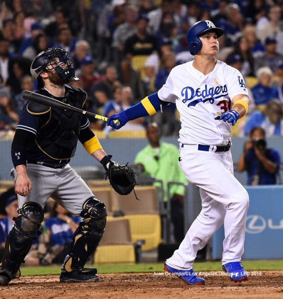 Joc Pederson hits a home run in the sixth inning. LOS ANGELES - AUGUST 23:  San Francisco Giants against the Los Angeles Dodgers on August 24, 2016 at Dodger Stadium in Los Angeles, California. LOS ANGELES - AUGUST 23:  San Francisco Giants against the Los Angeles Dodgers on August 24, 2016 at Dodger Stadium in Los Angeles, California. LOS ANGELES - AUGUST 23:  San Francisco Giants against the Los Angeles Dodgers on August 24, 2016 at Dodger Stadium in Los Angeles, California. LOS ANGELES - AUGUST 23:  San Francisco Giants against the Los Angeles Dodgers on August 24, 2016 at Dodger Stadium in Los Angeles, California. LOS ANGELES - AUGUST 23:  San Francisco Giants against the Los Angeles Dodgers on August 24, 2016 at Dodger Stadium in Los Angeles, California. LOS ANGELES - AUGUST 24:  San Francisco Giants against the Los Angeles Dodgers on August 24, 2016 at Dodger Stadium in Los Angeles, California. LOS ANGELES - AUGUST 24:  San Francisco Giants against the Los Angeles Dodgers on August 24, 2016 at Dodger Stadium in Los Angeles, California. LOS ANGELES - AUGUST 23:  San Francisco Giants against the Los Angeles Dodgers on August 24, 2016 at Dodger Stadium in Los Angeles, California. LOS ANGELES - AUGUST 23:  San Francisco Giants against the Los Angeles Dodgers on August 24, 2016 at Dodger Stadium in Los Angeles, California. LOS ANGELES - AUGUST 23:  San Francisco Giants against the Los Angeles Dodgers on August 24, 2016 at Dodger Stadium in Los Angeles, California. LOS ANGELES - AUGUST 23:  San Francisco Giants against the Los Angeles Dodgers on August 24, 2016 at Dodger Stadium in Los Angeles, California. LOS ANGELES - AUGUST 24:  San Francisco Giants against the Los Angeles Dodgers on August 24, 2016 at Dodger Stadium in Los Angeles, California. LOS ANGELES - AUGUST 23:  San Francisco Giants against the Los Angeles Dodgers on August 24, 2016 at Dodger Stadium in Los Angeles, California. LOS ANGELES - AUGUST 23:  San Francisco Giants against the Los Angeles Dodgers on August 24, 2016 at Dodger Stadium in Los Angeles, California. LOS ANGELES - AUGUST 23:  San Francisco Giants against the Los Angeles Dodgers on August 24, 2016 at Dodger Stadium in Los Angeles, California. LOS ANGELES - AUGUST 23:  San Francisco Giants against the Los Angeles Dodgers on August 24, 2016 at Dodger Stadium in Los Angeles, California. LOS ANGELES - AUGUST 24:  San Francisco Giants against the Los Angeles Dodgers on August 24, 2016 at Dodger Stadium in Los Angeles, California. LOS ANGELES - AUGUST 23:  San Francisco Giants against the Los Angeles Dodgers on August 24, 2016 at Dodger Stadium in Los Angeles, California. LOS ANGELES - AUGUST 23:  San Francisco Giants against the Los Angeles Dodgers on August 24, 2016 at Dodger Stadium in Los Angeles, California. LOS ANGELES - AUGUST 23:  San Francisco Giants against the Los Angeles Dodgers on August 24, 2016 at Dodger Stadium in Los Angeles, California. LOS ANGELES - AUGUST 23:  San Francisco Giants against the Los Angeles Dodgers on August 24, 2016 at Dodger Stadium in Los Angeles, California. LOS ANGELES - AUGUST 24:  San Francisco Giants against the Los Angeles Dodgers on August 24, 2016 at Dodger Stadium in Los Angeles, California. LOS ANGELES - AUGUST 23:  San Francisco Giants against the Los Angeles Dodgers on August 24, 2016 at Dodger Stadium in Los Angeles, California. LOS ANGELES - AUGUST 23:  San Francisco Giants against the Los Angeles Dodgers on August 24, 2016 at Dodger Stadium in Los Angeles, California. LOS ANGELES - AUGUST 23:  San Francisco Giants against the Los Angeles Dodgers on August 24, 2016 at Dodger Stadium in Los Angeles, California. LOS ANGELES - AUGUST 23:  San Francisco Giants against the Los Angeles Dodgers on August 24, 2016 at Dodger Stadium in Los Angeles, California. LOS ANGELES - AUGUST 23:  San Francisco Giants against the Los Angeles Dodgers on August 24, 2016 at Dodger Stadium in Los Angeles, California. LOS ANGELES - AUGUST 24:  San Francisco Giants against the Los Angeles Dodgers on August 24, 2016 at Dodger Stadium in Los Angeles, California. LOS ANGELES - AUGUST 23:  San Francisco Giants against the Los Angeles Dodgers on August 24, 2016 at Dodger Stadium in Los Angeles, California. LOS ANGELES - AUGUST 23:  San Francisco Giants against the Los Angeles Dodgers on August 24, 2016 at Dodger Stadium in Los Angeles, California. LOS ANGELES - AUGUST 23:  San Francisco Giants against the Los Angeles Dodgers on August 24, 2016 at Dodger Stadium in Los Angeles, California. LOS ANGELES - AUGUST 23:  San Francisco Giants against the Los Angeles Dodgers on August 24, 2016 at Dodger Stadium in Los Angeles, California. LOS ANGELES - AUGUST 23:  San Francisco Giants against the Los Angeles Dodgers on August 24, 2016 at Dodger Stadium in Los Angeles, California. LOS ANGELES - SEPTEMBER 1:  Los Angeles Dodgers Bark In The Park event on September 1, 2012 at Dodger Stadium in Los Angeles, California.LOS ANGELES - AUGUST 24:  San Francisco Giants against the Los Angeles Dodgers on August 24, 2016 at Dodger Stadium in Los Angeles, California. LOS ANGELES - AUGUST 24:  San Francisco Giants against the Los Angeles Dodgers on August 24, 2016 at Dodger Stadium in Los Angeles, California. LOS ANGELES - AUGUST 23:  San Francisco Giants against the Los Angeles Dodgers on August 24, 2016 at Dodger Stadium in Los Angeles, California. LOS ANGELES - AUGUST 23:  San Francisco Giants against the Los Angeles Dodgers on August 24, 2016 at Dodger Stadium in Los Angeles, California. LOS ANGELES - AUGUST 23:  San Francisco Giants against the Los Angeles Dodgers on August 24, 2016 at Dodger Stadium in Los Angeles, California. LOS ANGELES - AUGUST 23:  San Francisco Giants against the Los Angeles Dodgers on August 24, 2016 at Dodger Stadium in Los Angeles, California. LOS ANGELES - AUGUST 24:  San Francisco Giants against the Los Angeles Dodgers on August 24, 2016 at Dodger Stadium in Los Angeles, California. LOS ANGELES - AUGUST 23:  San Francisco Giants against the Los Angeles Dodgers on August 24, 2016 at Dodger Stadium in Los Angeles, California. LOS ANGELES - AUGUST 23:  San Francisco Giants against the Los Angeles Dodgers on August 24, 2016 at Dodger Stadium in Los Angeles, California. LOS ANGELES - AUGUST 23:  San Francisco Giants against the Los Angeles Dodgers on August 24, 2016 at Dodger Stadium in Los Angeles, California. LOS ANGELES - AUGUST 23:  San Francisco Giants against the Los Angeles Dodgers on August 24, 2016 at Dodger Stadium in Los Angeles, California. LOS ANGELES - AUGUST 24:  San Francisco Giants against the Los Angeles Dodgers on August 24, 2016 at Dodger Stadium in Los Angeles, California. LOS ANGELES - AUGUST 23:  San Francisco Giants against the Los Angeles Dodgers on August 24, 2016 at Dodger Stadium in Los Angeles, California. LOS ANGELES - AUGUST 23:  San Francisco Giants against the Los Angeles Dodgers on August 24, 2016 at Dodger Stadium in Los Angeles, California. LOS ANGELES - AUGUST 23:  San Francisco Giants against the Los Angeles Dodgers on August 24, 2016 at Dodger Stadium in Los Angeles, California. LOS ANGELES - AUGUST 23:  San Francisco Giants against the Los Angeles Dodgers on August 24, 2016 at Dodger Stadium in Los Angeles, California. LOS ANGELES - AUGUST 24:  San Francisco Giants against the Los Angeles Dodgers on August 24, 2016 at Dodger Stadium in Los Angeles, California. LOS ANGELES - AUGUST 23:  San Francisco Giants against the Los Angeles Dodgers on August 24, 2016 at Dodger Stadium in Los Angeles, California. LOS ANGELES - AUGUST 23:  San Francisco Giants against the Los Angeles Dodgers on August 24, 2016 at Dodger Stadium in Los Angeles, California. LOS ANGELES - AUGUST 23:  San Francisco Giants against the Los Angeles Dodgers on August 24, 2016 at Dodger Stadium in Los Angeles, California. LOS ANGELES - AUGUST 23:  San Francisco Giants against the Los Angeles Dodgers on August 24, 2016 at Dodger Stadium in Los Angeles, California. LOS ANGELES - AUGUST 23:  San Francisco Giants against the Los Angeles Dodgers on August 24, 2016 at Dodger Stadium in Los Angeles, California. LOS ANGELES - AUGUST 24:  San Francisco Giants against the Los Angeles Dodgers on August 24, 2016 at Dodger Stadium in Los Angeles, California. LOS ANGELES - AUGUST 23:  San Francisco Giants against the Los Angeles Dodgers on August 24, 2016 at Dodger Stadium in Los Angeles, California. LOS ANGELES - AUGUST 23:  San Francisco Giants against the Los Angeles Dodgers on August 24, 2016 at Dodger Stadium in Los Angeles, California. LOS ANGELES - AUGUST 23:  San Francisco Giants against the Los Angeles Dodgers on August 24, 2016 at Dodger Stadium in Los Angeles, California. LOS ANGELES - AUGUST 23:  San Francisco Giants against the Los Angeles Dodgers on August 24, 2016 at Dodger Stadium in Los Angeles, California. LOS ANGELES - AUGUST 23:  San Francisco Giants against the Los Angeles Dodgers on August 24, 2016 at Dodger Stadium in Los Angeles, California.