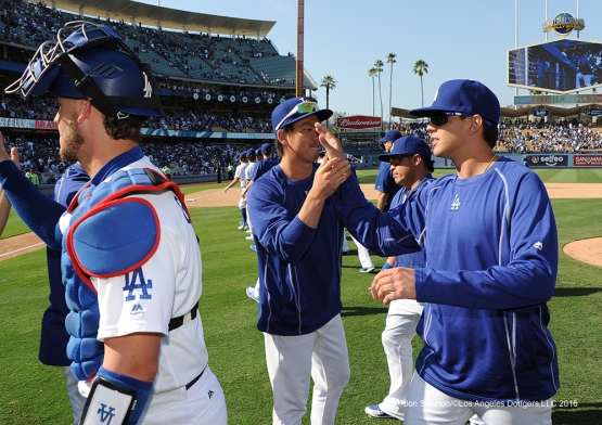 Los Angeles Dodgers defeat the San Diego Padres 7-4 Sunday, September 4, 2016 at Dodger Stadium. Photo by Jon SooHoo/©Los Angeles Dodgers,LLC 2016