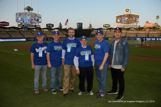 Metro Night  prior to game against the Arizona Diamondbacks Wednesday, September 7, 2016 at Dodger Stadium. Photo by Jon SooHoo/©Los Angeles Dodgers,LLC 2016