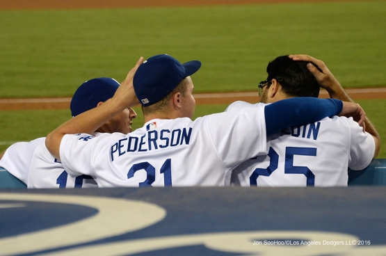 Los Angeles Dodgers during game against the Arizona Diamondbacks Wednesday, September 7, 2016 at Dodger Stadium. Photo by Jon SooHoo/©Los Angeles Dodgers,LLC 2016