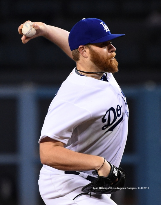Brett Anderson started the game against the Rockies.