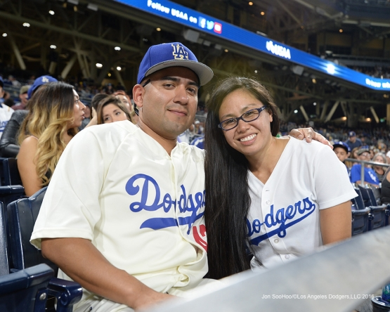 Great Los Angeles Dodger fans at the San Diego Padres Thursday, September 29, 2016 at Petco Park. Photo by Jon SooHoo/©Los Angeles Dodgers,LLC 2016