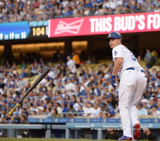 LOS ANGELES - SEPTEMBER 5:  Arizona Diamondbacks against the Los Angeles Dodgers on September 5, 2016 at Dodger Stadium in Los Angeles, California. Jill Weisleder/Dodgers