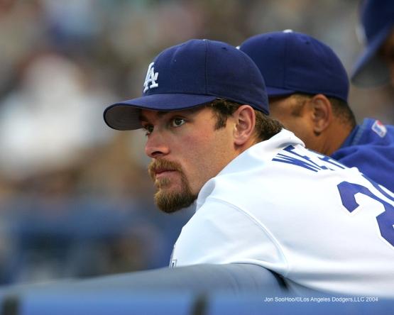 6/30/04-LOS ANGELES,CA- San Francisco Giants  vs Los Angeles Dodgers  at Dodger Stadium in Los Angeles,CA JON SOOHOO