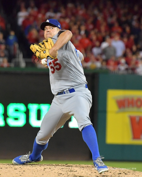 NLDS-Game 5-Joe Blanton-Los Angeles Dodgers vs Washington Nationals-Dodgers defeat the Nationals 4-3. Wednesday, October 13, 2016. Photo by Jon SooHoo/©Los Angeles Dodgers,LLC 2016