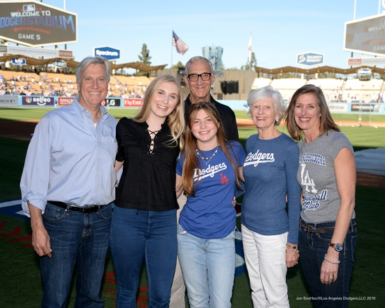 2016 NLCS Game 5---The Walter family-Chicago Cubs vs Los Angeles Dodgers Thursday, October 20, 2016 at Dodger Stadium in Los Angeles, California. Photo by Jon SooHoo/© Los Angeles Dodgers, LLC 2016
