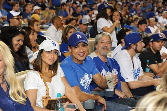 2016 NLCS Game 4---Los Angeles Dodgers vs Chicago Cubs Wednesday, October 19, 2016 at Dodger Stadium in Los Angeles, California. Photo by Jill Weisleder/© Los Angeles Dodgers, LLC 2016
