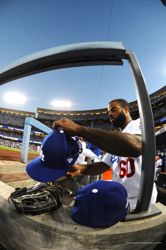 2016 NLCS Game 4---Los Angeles Dodgers vs Chicago Cubs Wednesday, October 19, 2016 at Dodger Stadium in Los Angeles, California. Photo by Juan Ocampo/© Los Angeles Dodgers, LLC 2016