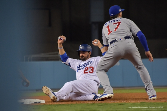 2016 NLCS Game 5---Adrian Gonzalez-Chicago Cubs vs Los Angeles Dodgers Thursday, October 20, 2016 at Dodger Stadium in Los Angeles, California. Photo by Jon SooHoo/© Los Angeles Dodgers, LLC 2016