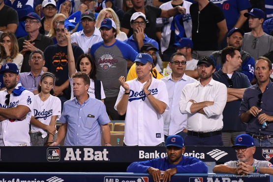 2016 NLCS Game 4---Will Ferrell-Los Angeles Dodgers vs Chicago Cubs Wednesday, October 19, 2016 at Dodger Stadium in Los Angeles, California. Photo by Juan Ocampo/© Los Angeles Dodgers, LLC 2016