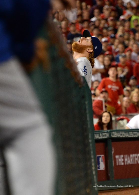 2016 NLDS Game One---Justin Turner--Los Angeles Dodgers vs Washington Nationals  Friday, October 7, 2016 at Nationals Park in Washington,DC.  Photo by Jon SooHoo/©Los Angeles Dodgers,LLC 2016