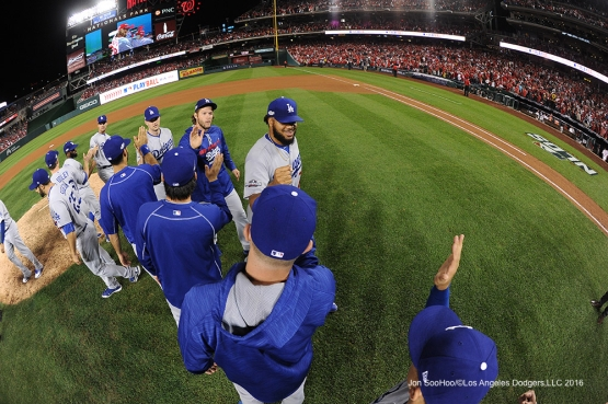 2016 NLDS Game One---Los Angeles Dodgers defeat the Washington Nationals 4-3  Friday, October 7, 2016 at Nationals Park in Washington,DC.  Photo by Jon SooHoo/©Los Angeles Dodgers,LLC 2016